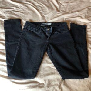 Black Straight Legged Joe's Jeans size 28
